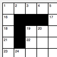 Crossword Puzzle Grid Maker
